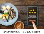 customer experience concept.... | Shutterstock . vector #1012764895