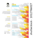creative simple cv template...