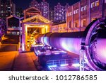 factory buildings and...   Shutterstock . vector #1012786585