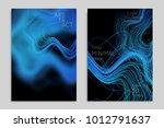abstract banner template with... | Shutterstock .eps vector #1012791637