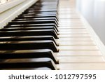 piano close up  musical... | Shutterstock . vector #1012797595