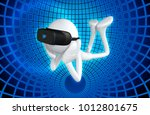 the original 3d character... | Shutterstock . vector #1012801675