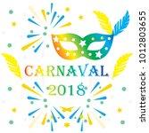 popular event brazil carnival...   Shutterstock .eps vector #1012803655
