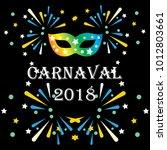 popular event brazil carnival...   Shutterstock .eps vector #1012803661