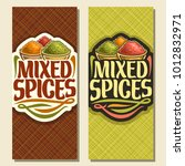 vector vertical banners for... | Shutterstock .eps vector #1012832971