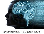 ai artificial intelligence ... | Shutterstock . vector #1012844275