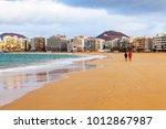 las palmas de gran canaria ... | Shutterstock . vector #1012867987