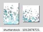 bluevector layout for leaflets. ...