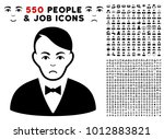 pitiful dealer pictograph with... | Shutterstock .eps vector #1012883821