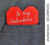 valentines day congratulation...   Shutterstock . vector #1012885231