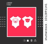 baby rompers icon   Shutterstock .eps vector #1012891141