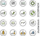 line vector icon set  ... | Shutterstock .eps vector #1012894654