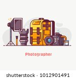 digital photography lifestyle... | Shutterstock .eps vector #1012901491