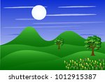 vector cartoon design of a... | Shutterstock .eps vector #1012915387