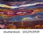 mineral design  macro closeup... | Shutterstock . vector #1012915939