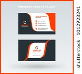 double sided horizontal...   Shutterstock .eps vector #1012923241