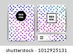 dark pink  blue vector template ...