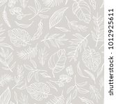 vector elegant seamless... | Shutterstock .eps vector #1012925611