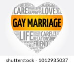 gay marriage word cloud collage ... | Shutterstock .eps vector #1012935037