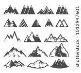 mountain logo vector mounting... | Shutterstock .eps vector #1012947601