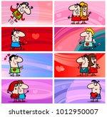 cartoon illustration of... | Shutterstock .eps vector #1012950007