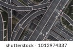 aerial view of highway and... | Shutterstock . vector #1012974337