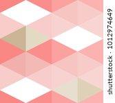 seamless geometric pattern.... | Shutterstock .eps vector #1012974649