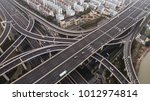 aerial view of highway and... | Shutterstock . vector #1012974814