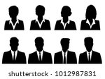 set silhouettes of men and... | Shutterstock .eps vector #1012987831
