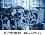 modern automobile production... | Shutterstock . vector #1012989799