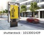 3d rendering advertising poster ... | Shutterstock . vector #1013001439