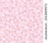 seamless triangle pattern.... | Shutterstock .eps vector #1013009071