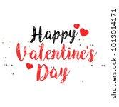 valentine's day vector... | Shutterstock .eps vector #1013014171