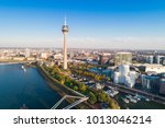d sseldorf media harbour ... | Shutterstock . vector #1013046214
