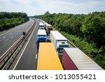 maidstone  kent  uk  july 2015  ... | Shutterstock . vector #1013055421