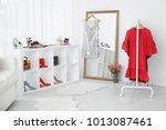 interior of modern makeup room | Shutterstock . vector #1013087461