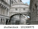 The Bridge Of Sighs In Venice...
