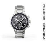 wrist watch. time accessory... | Shutterstock . vector #1013095261