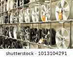rack with car wheels in... | Shutterstock . vector #1013104291