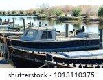 older boats in spain | Shutterstock . vector #1013110375