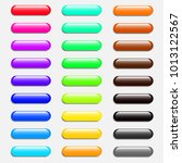 colorful set of web buttons... | Shutterstock .eps vector #1013122567