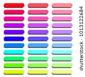colorful set of web buttons...   Shutterstock .eps vector #1013122684