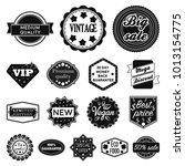 different label black icons in... | Shutterstock . vector #1013154775