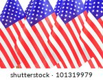 united states of america flags... | Shutterstock . vector #101319979