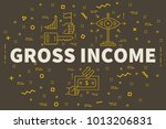 conceptual business... | Shutterstock . vector #1013206831