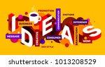 vector creative abstract... | Shutterstock .eps vector #1013208529