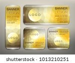 collection of web banners set... | Shutterstock .eps vector #1013210251