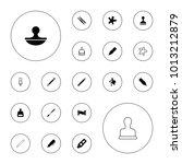 editable vector ink icons ...   Shutterstock .eps vector #1013212879