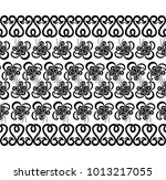 seamless white background with... | Shutterstock .eps vector #1013217055