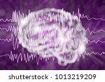 epilepsy awareness concept.... | Shutterstock . vector #1013219209